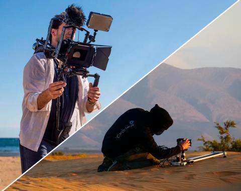 audiovisuales con drones en granada